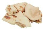 Atvėsinti kiaulienos lašiniai be odos