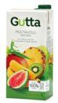 Įvairių vaisių nektaras GUTTA (50%)